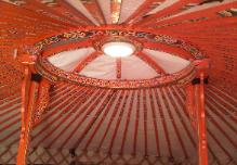 Yurt holidays in France